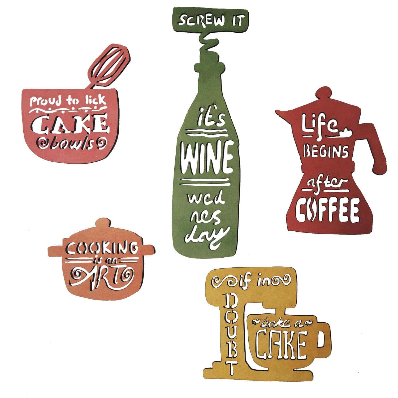 Miau apliques de pared happy kitchen - Apliques de cocina ...