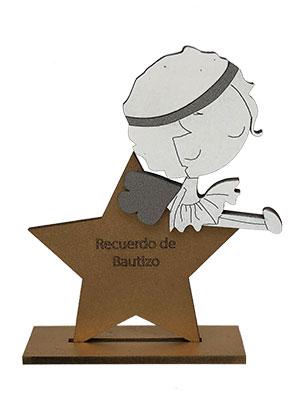 Recuerdos De Bautizo Quito.Estrella Con Nina