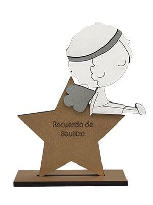 Recuerdos De Bautizo Quito.Estrella Con Nino